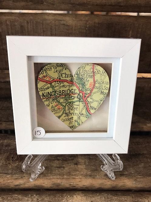 Kingsbridge Heart Map Picture Large