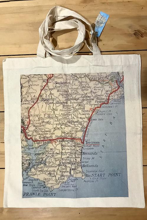 Torcross & Start Point Tote Bag