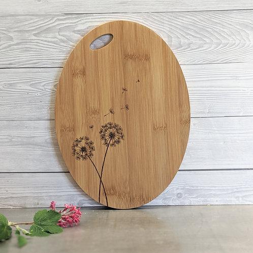 Dandelions Seed Heads Board