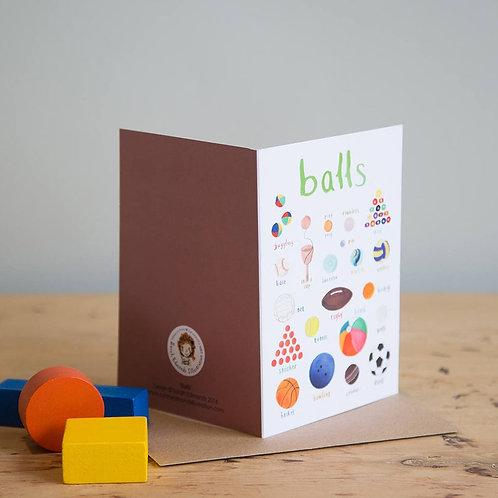 Balls Card