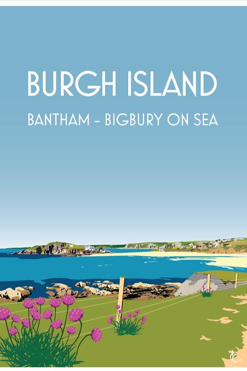 Burgh Island Print