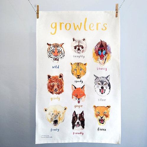 Tea Towel -Growlers