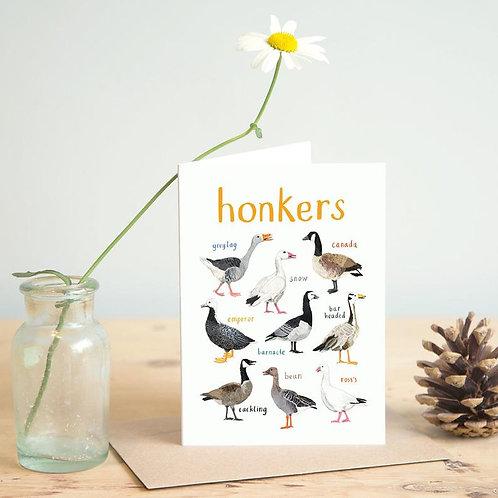 Honkers Card