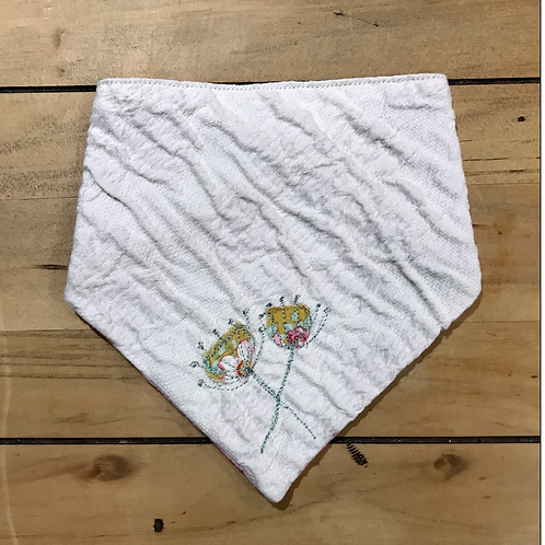 Floral Baby/Toddler Bib