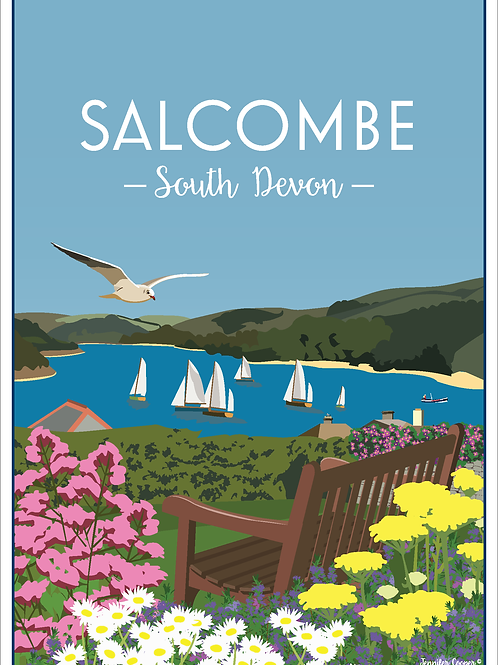Salcombe Harbour Print