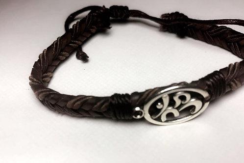 Buddha 'Ohm' Symbol Bracelet