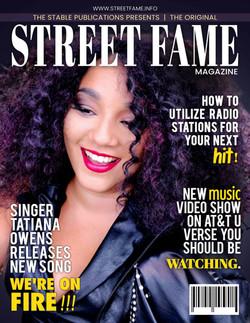 Tatiana Owens Street Fame Magazine cover (High Resolution)