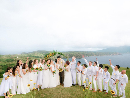 This Couple Had a Sunrise Wedding in Batanes and It Was Breathtaking!