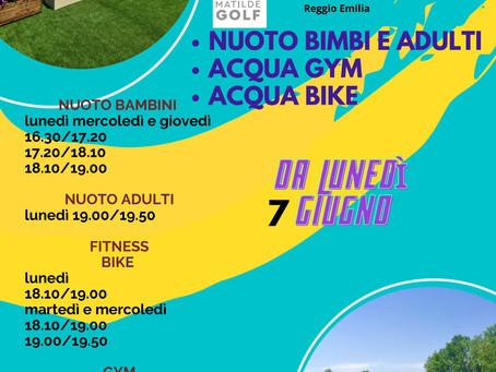 """Corsi estivi 2021 presso Matilde Golf """"San Bartolomeo"""""""