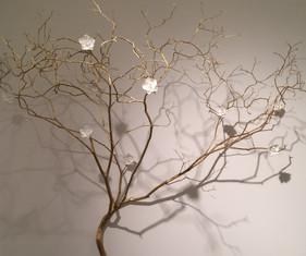 Gilded Branch, 2015, detail