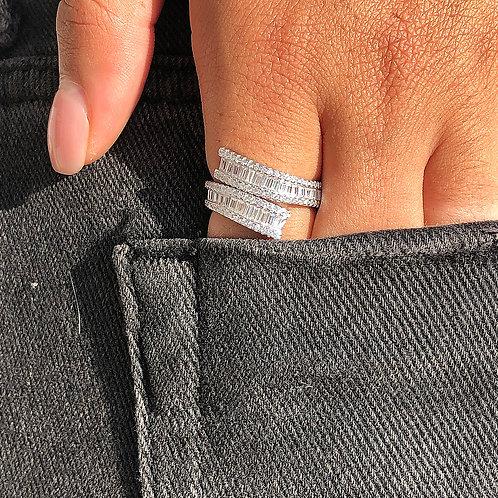 Double Baguette Ring