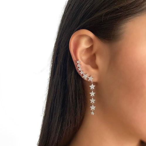 Multi Stars Earrings