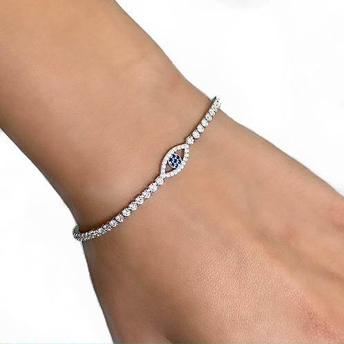 Tennis Eye Bracelet