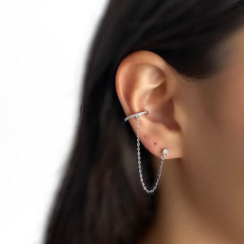 Falling Chain Earring