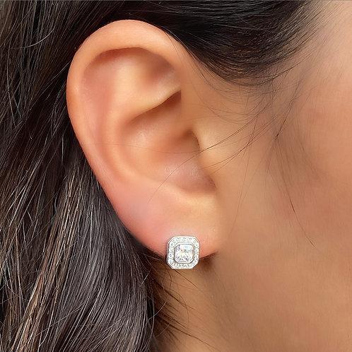Square Baguettes Earrings