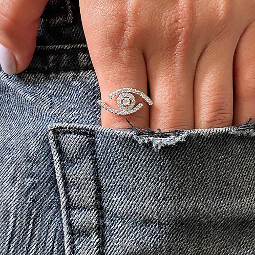 New Evil Eye Ring