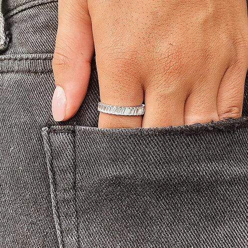 New baguette ring