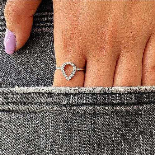 Hollow Drop Ring