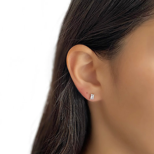 Small Baguette Earrings