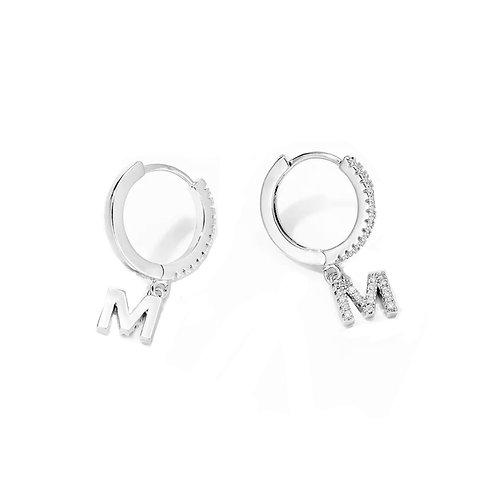 Falling Letter Earrings
