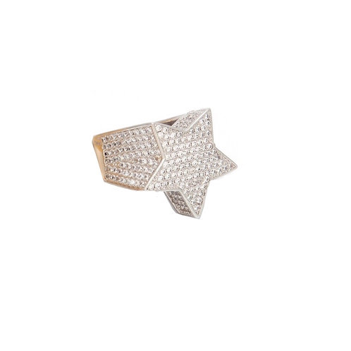 14K Star Ring