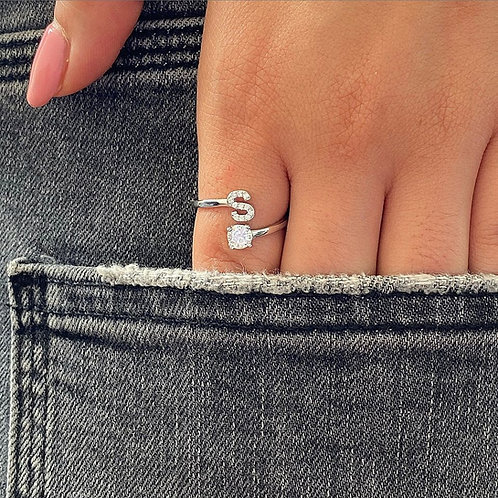 Small Letter Ring