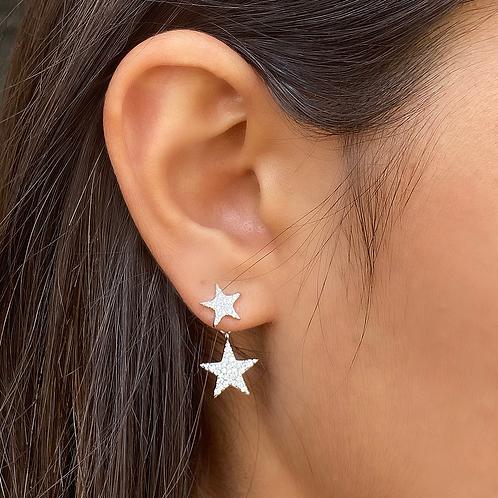 Double Stars Earrings
