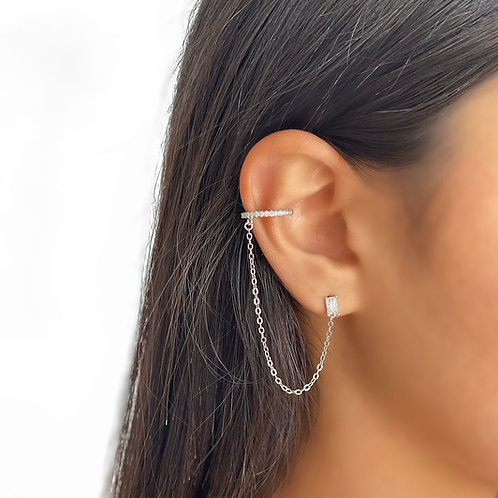 New falling Chain Earring