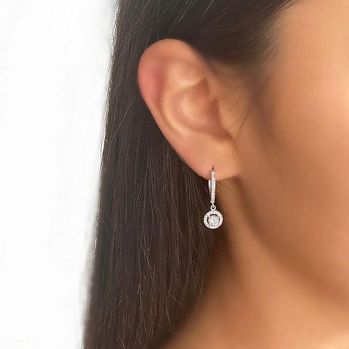 Falling Diamond Earrings