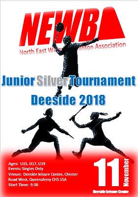 NEWBA junior silver tournament deeside.P