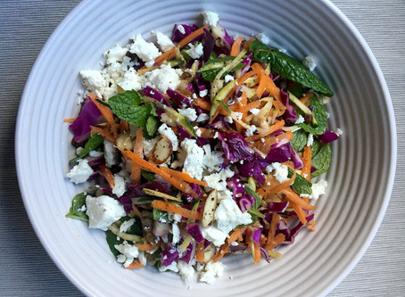 Cabbage, Mint and Lentil Salad