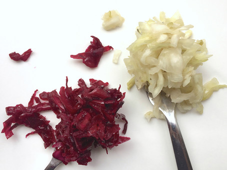 Cabbage ferments with a twist