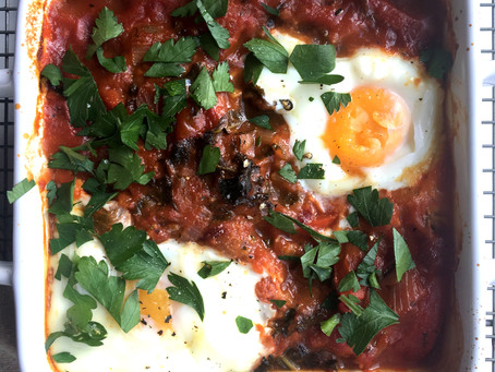 Shakshuka (Baked Eggs)