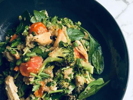 Cajun Chicken and Quinoa Salad