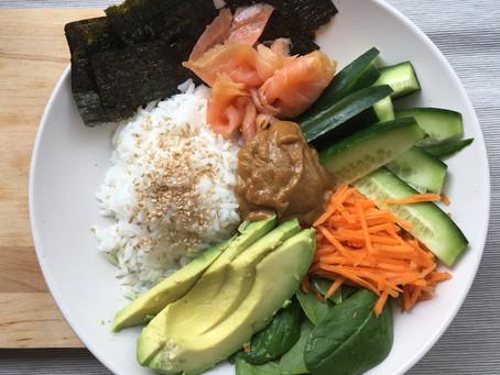 Sushi Salad Bowl