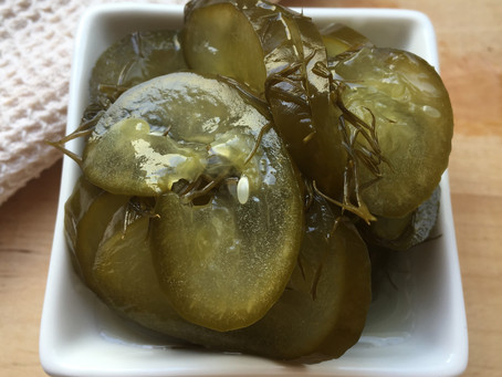 Low FODMAP ferment: Pickled dill cucumbers