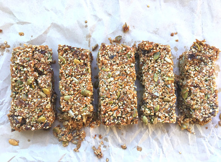 Apricot and Coconut Energy Bars