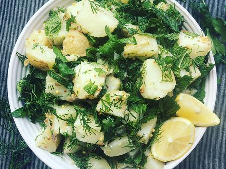 Zesty Herb Potato Salad