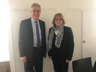 Rencontre avec M. Jean Martin délégué national de la fédération de la plasturgie