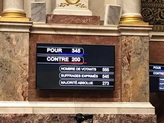 Vote solennel du budget de l'Etat pour 2019