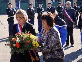 Hommage aux gendarmes décédés dans l'accomplissement de leur devoir