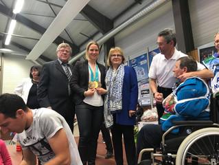 Le Jura honore sa championne olympique Anaïs Bescond !