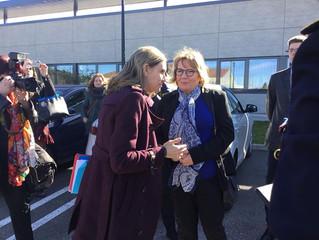 Visite de Madame Agnès Pannier-Runacher, Secrétaire d'Etat