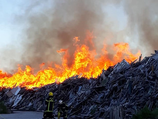 Incendie à Ruffey-sur-Seille Félicitations et remerciements aux cinquante sapeurs pompiers volontair