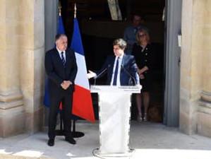 Au ministère de l'agriculture, passation de pouvoirs entre Didier Guillaume et le nouveau ministre d