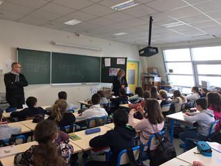 Visite du groupe scolaire Richebourg à Lons le Saunier