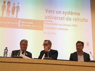 Rencontre avec Jean-Paul Delevoye, haut-commissaire aux retraites