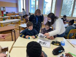 Rencontre avec les enfants de l'école Jacques Prévert de Lons-le-Saunier