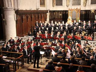 Concert de noël à la collégiale de Poligny