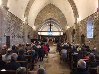 La Tour du Meix Inauguration de l'église Saint Christophe entièrement rénovée
